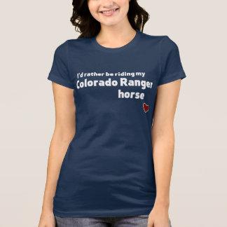 Colorado Ranger horse Tee Shirts