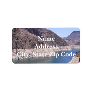 Colorado River Address Labels