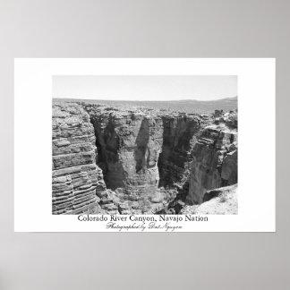 Colorado River Canyon, Navajo Nation Poster