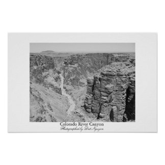 Colorado River Canyon Poster