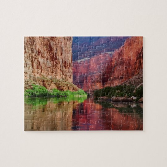 Colorado river in Grand Canyon, AZ Jigsaw Puzzle