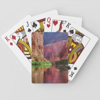 Colorado river in Grand Canyon, AZ Playing Cards