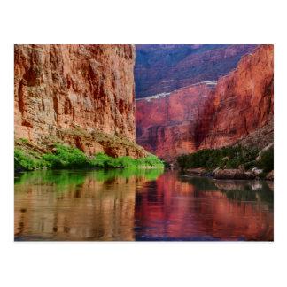 Colorado river in Grand Canyon, AZ Postcard