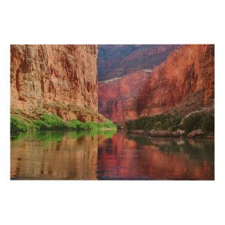 Colorado river in Grand Canyon, AZ Wood Print