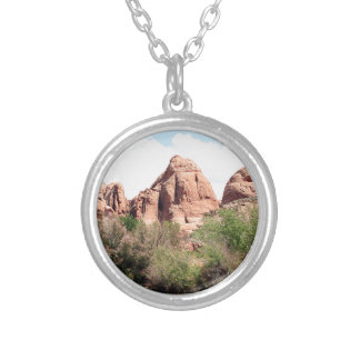 Colorado River near Moab, Utah 1 Silver Plated Necklace