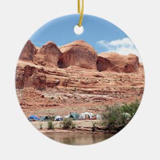 Colorado River near Moab, Utah, USA Ceramic Ornament