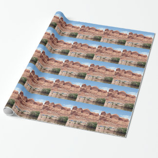 Colorado River near Moab, Utah, USA Wrapping Paper