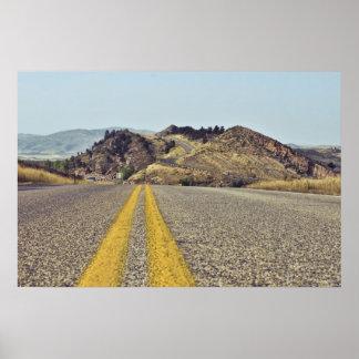 Colorado Road Trip Poster