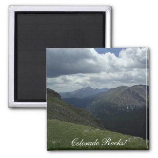 Colorado Rocks! Square Magnet