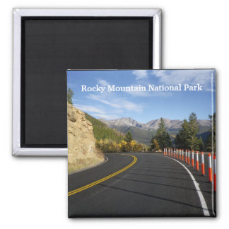 Colorado Rocky Mountain National Park Magnet