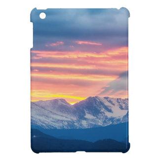Colorado Rocky Mountain Sunset Waves Of Light Part iPad Mini Case