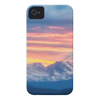 Colorado Rocky Mountain Sunset Waves Of Light Part iPhone 4 Cover