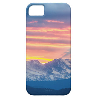Colorado Rocky Mountain Sunset Waves Of Light Part iPhone 5 Cases