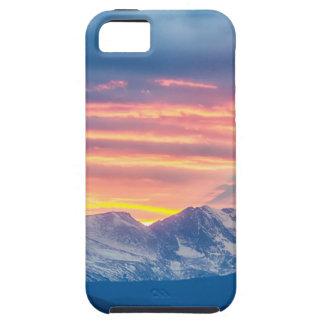 Colorado Rocky Mountain Sunset Waves Of Light Part Tough iPhone 5 Case