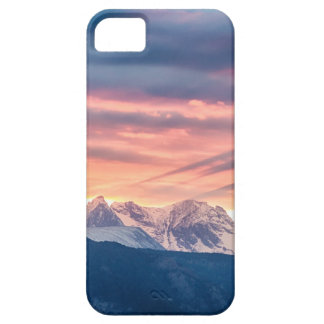 Colorado Rocky Mountain Sunset Waves Of Light Pt 2 Barely There iPhone 5 Case