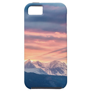 Colorado Rocky Mountain Sunset Waves Of Light Pt 2 iPhone 5 Cover
