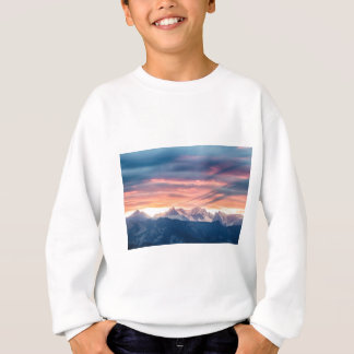 Colorado Rocky Mountain Sunset Waves Of Light Pt 2 Sweatshirt