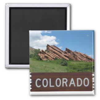 Colorado Rocky Mountains Magnet