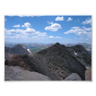 Colorado Rocky Mountains Moonscape Photo Art