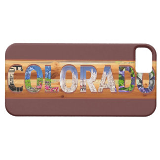 Colorado rustic sign seasons iphone 5 scenic case iPhone 5 covers