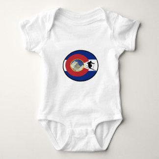 COLORADO SKI TIME BABY BODYSUIT