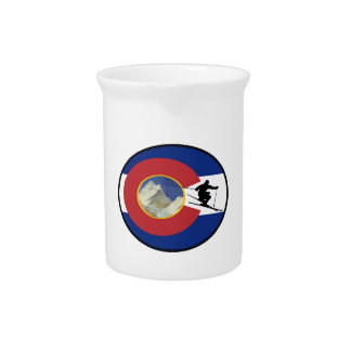 COLORADO SKI TIME PITCHER