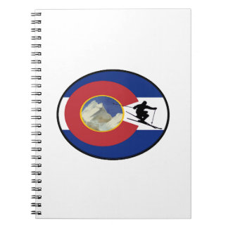 COLORADO SKI TIME SPIRAL NOTEBOOK