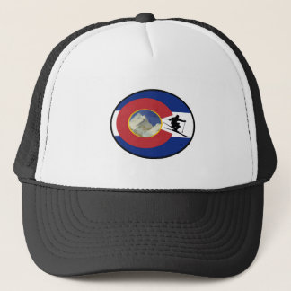 COLORADO SKI TIME TRUCKER HAT