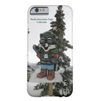 Colorado Ski Town Barely There iPhone 6 Case
