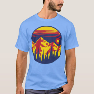 Colorado Skies Short-Sleeve T-Shirt