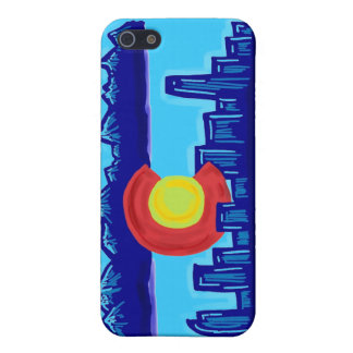 Colorado skyline iphone case case for the iPhone 5
