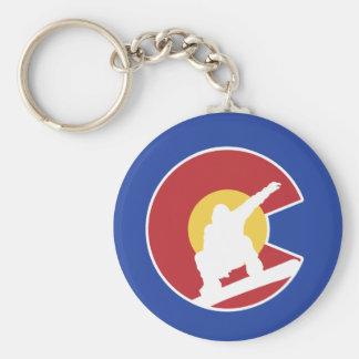 Colorado Snowboard Key Ring