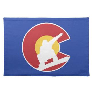 Colorado Snowboard Placemat