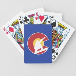 Colorado Snowboard Poker Deck
