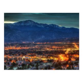 Colorado Springs Lights Postcard