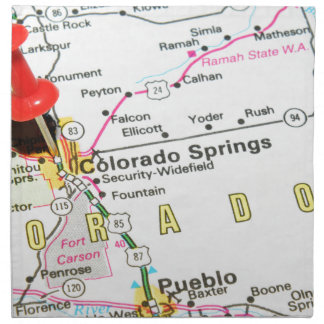 Colorado Springs Napkin