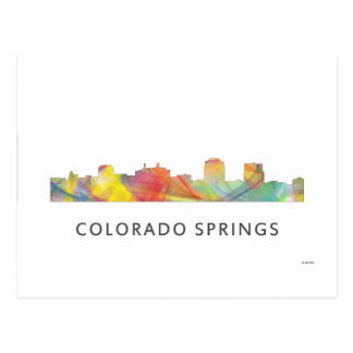 COLORADO SPRINGS WB1 - POSTCARD