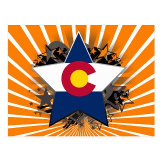 Colorado Star Postcard