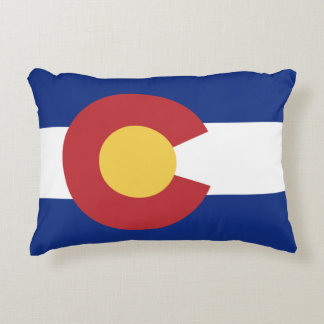 Colorado State Flag Accent Cushion