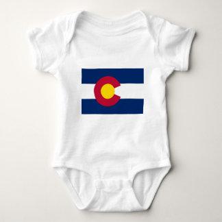 Colorado State Flag Baby Bodysuit