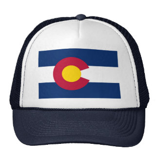 Colorado State Flag Mesh Hats