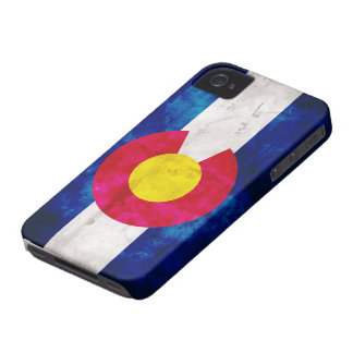 Colorado State Flag iPhone 4 Cases