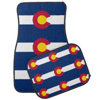 Colorado State Flag Pattern Floor Mat