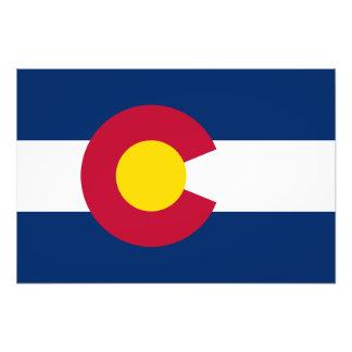 Colorado State Flag Photo Print