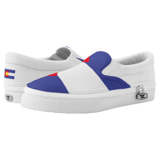 Colorado State Flag Slip On Shoes