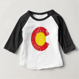 Colorado State Flag Symbol Baby T-Shirt