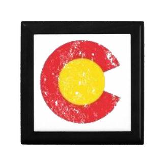 Colorado State Flag Symbol Gift Box