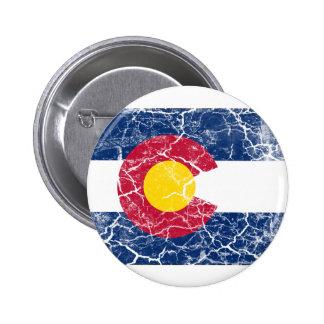 Colorado State Flag Vintage Pins
