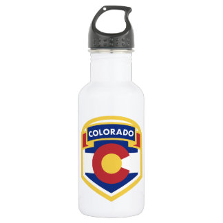 COLORADO STATE FLAG zazzle 532 Ml Water Bottle