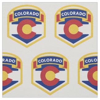 COLORADO STATE FLAG zazzle Fabric